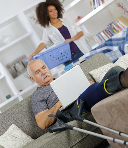 Aide à la personne en incapacité temporaire à Albert