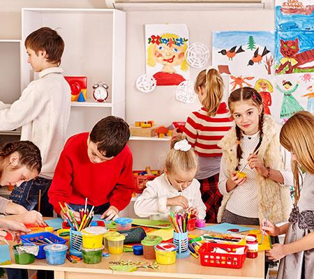 Ateliers créatifs pour enfants à Albert